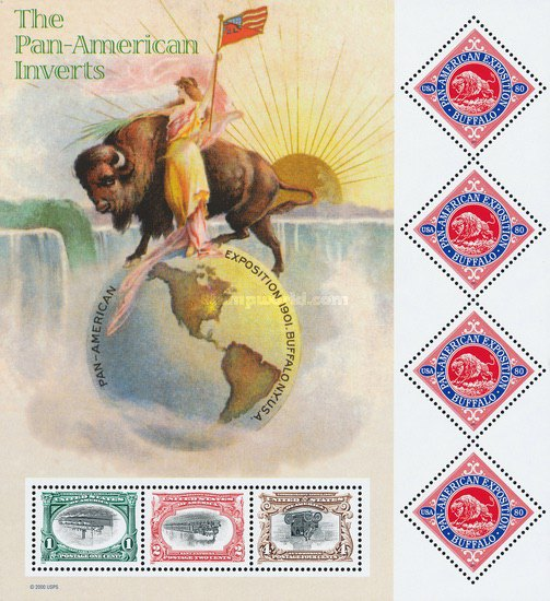 [The 100th Anniversary of Pan American Exposition - The Pan-American Inverts, Typ ]