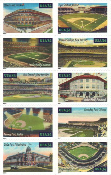 [Baseball Stadiums - Self-Adhesive, Typ ]