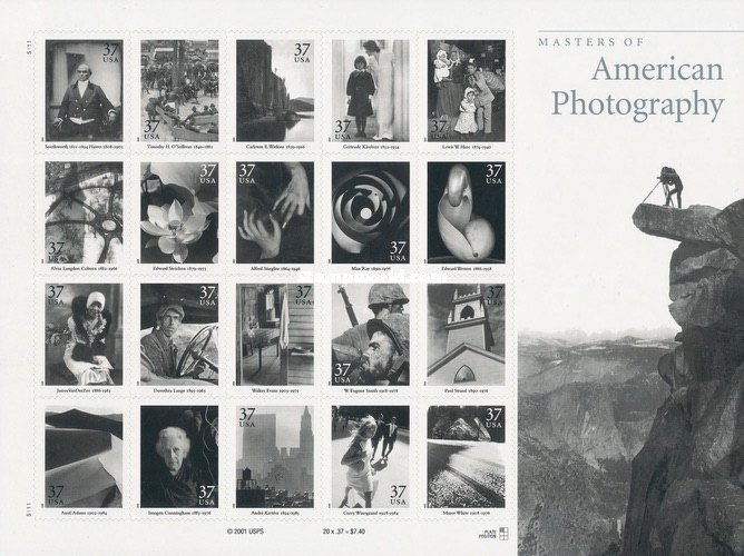 [Masters of American Photography, Typ ]