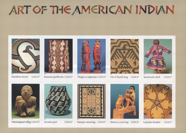 [Art of the American Indian - Self-Adhesive, Typ ]