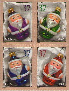 [Christmas - Santa Ornaments - Self-Adhesive, Typ ]