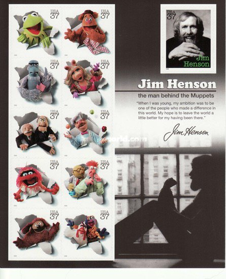 [Jim Henson and the Muppets - Self-Adhesive, Typ ]