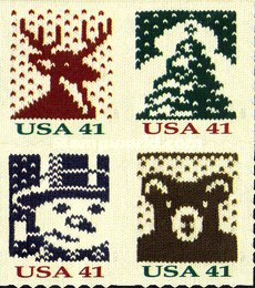 [Holiday Knits - Self-Adhesive Booklet Stamps, Typ ]