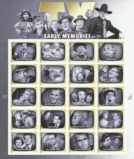 [Early TV Memories - Self-Adhesive Stamps, Typ ]