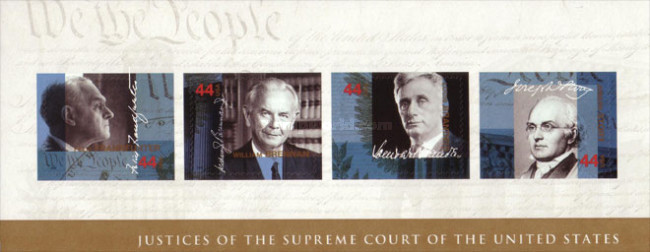 [Justices of the Supreme Court- Self Adhesive Stamps, Typ ]