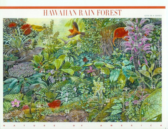 [Nature of America - Hawaiian Rain Forest - Self-Adhesive Stamps, Typ ]
