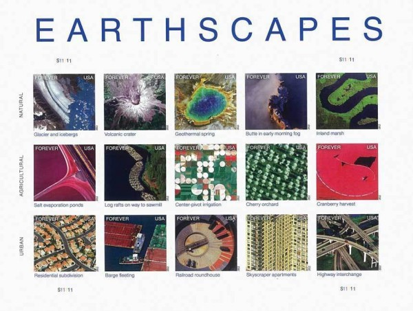 [Earthscapes - Self Adhesive Stamps, Typ ]