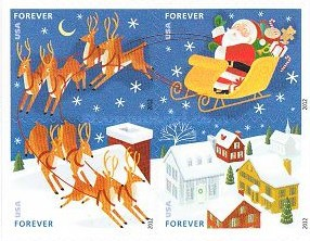 [Christmas - Self Adhesive Stamps, Typ ]