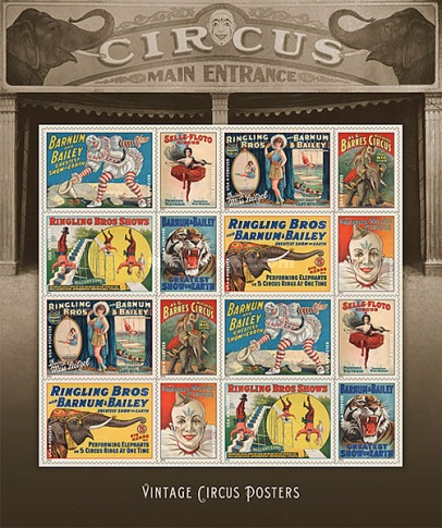 [Vintage Circus Posters, Typ ]