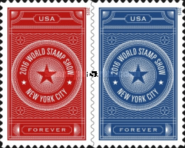 [World Stamp Show NY 2016, New York, USA, Typ ]