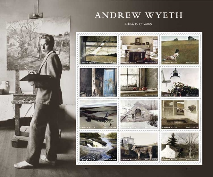 [Paintings - The 100th Anniversary of the Birth of Andrew Wyeth, 1917-2009, Typ ]