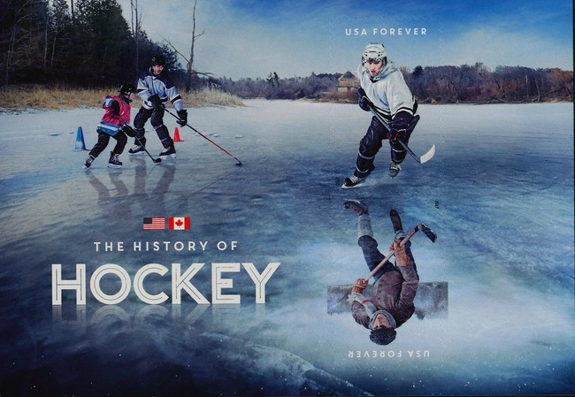 [The History of Hockey - Joint Issue with Canada, Typ ]