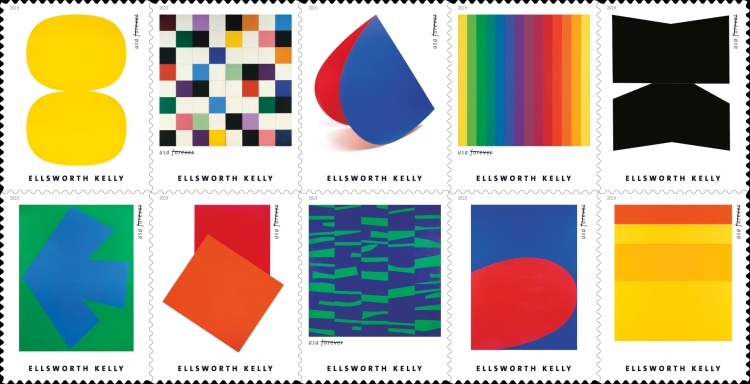 [Art by Ellsworth Kelly, 1923-2015, type ]