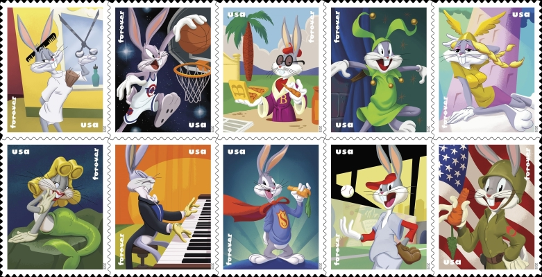 [Comics - The 80th Anniversary of Bugs Bunny, Typ ]