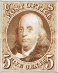 [Special Printings - Redesigns of 1847 Issue. Bluish Paper without Gum, type A2]