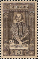 [The 400th Anniversary of William Shakespeare, 1564-1616, Typ AAD]