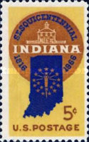 [The 150th Anniversary of Indiana Statehood, type ACA]