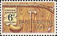 [American folklore - Daniel Boone, 1734-1820, type ADX]