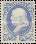 [Designs of 1870-1871 with Secret Marks - Printed by the National Bank Note Company. See Also No. 60A-69A, тип AF2]