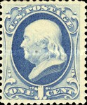 [Printed by American Bank Note Company - Designs of 1873. Thin to Thick Soft Porous Paper, Typ AF5]