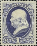 [Special Printing of the 1879 Issue - Soft Porous Paper without Gum, Typ AF6]