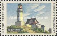 [The 150th Anniversary of Maine Statehood - Lighthouse Painting, type AFF]