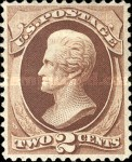 [Andrew Jackson - White Wove Paper, type AG]