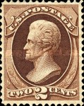 [Andrew Jackson - White Wove Paper, type AG1]