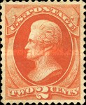 [Andrew Jackson - Yellowish Wove Paper, Typ AG4]