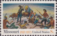 [The 150th Anniversary of Missouri Statehood, Typ AGK]