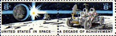[United States in Space - A Decade of Achievements, type AGT]