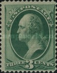 [George Washington - White Wove Paper, Typ AH1]