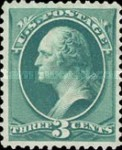 [Designs of 1870-1871 with Secret Marks - Printed by the National Bank Note Company. See Also No. 60A-69A, тип AH2]