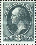 [Special Printings - Designs of 1873. Hard White Wove Paper without Gum, Typ AH4]