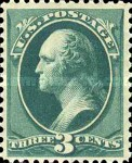 [Printed by American Bank Note Company - Designs of 1873. Thin to Thick Soft Porous Paper, Typ AH5]