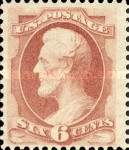 [Designs of 1870-1871 with Secret Marks - Printed by the National Bank Note Company. See Also No. 60A-69A, Typ AI2]