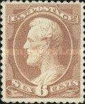 [Design of 1873 Re-Engraved - 3 Lines Between Edge of Panel and Outside Stamp, Typ AI7]