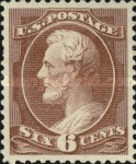 [Design of 1873 Re-Engraved - 3 Lines Between Edge of Panel and Outside Stamp, Typ AI8]
