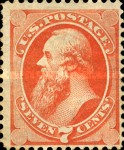 [Designs of 1870-1871 with Secret Marks - Printed by the National Bank Note Company. See Also No. 60A-69A, тип AJ2]
