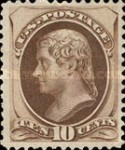 [Designs of 1870-1871 with Secret Marks - Printed by the National Bank Note Company. See Also No. 60A-69A, Typ AK2]