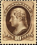 [Printed by American Bank Note Company - Designs of 1873. Thin to Thick Soft Porous Paper, Typ AK5]