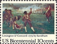 [The 200th Anniversary of american Independence - Famous Battle's, Typ ALF]