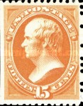[Special Printings - Designs of 1873. Hard White Wove Paper without Gum, type AM4]