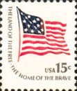 [Americana Issue - Fort McHenry Flag, National Flag 1795-1818, Typ AMH]