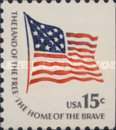[Americana Issue - Fort McHenry Flag, National Flag 1795-1818, Typ AMH1]