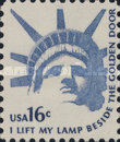 [Americana Issue - Statue of Liberty, Typ AMI]