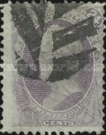 [Designs of 1870-1871 with Secret Marks - Printed by the National Bank Note Company. See Also No. 60A-69A, тип AN2]