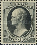 [Designs of 1870-1871 with Secret Marks - Printed by the National Bank Note Company. See Also No. 60A-69A, тип AO2]