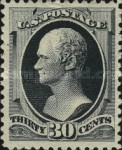 [Special Printing of the 1879 Issue - Soft Porous Paper without Gum, Typ AO6]