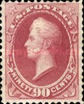 [Designs of 1870-1871 with Secret Marks - Printed by the National Bank Note Company. See Also No. 60A-69A, тип AP2]